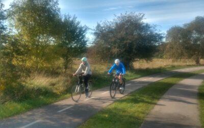 De ældste årgange prøver kræfter med triatlon